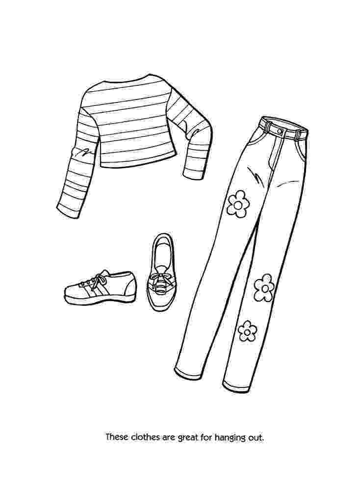 coloring pages clothes printable ausmalbilder kleidung 48 scrapbooking pinterest printable coloring clothes pages