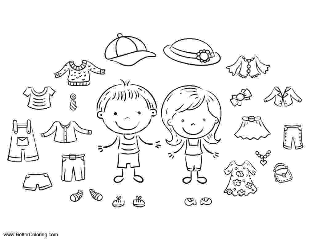 coloring pages clothes printable summer fun coloring pages summer clothes free printable printable pages coloring clothes