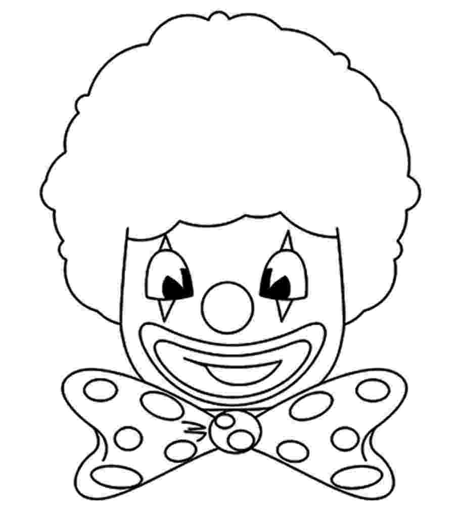 coloring pages clown free printable clown coloring pages for kids pages clown coloring 1 1