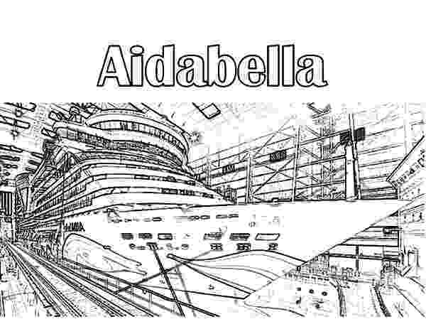 coloring pages cruise ship aidabella cruise ship coloring pages netart cruise coloring ship pages