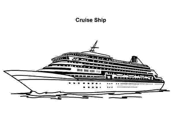 coloring pages cruise ship cruise ship coloring page for kids transportation coloring ship cruise pages