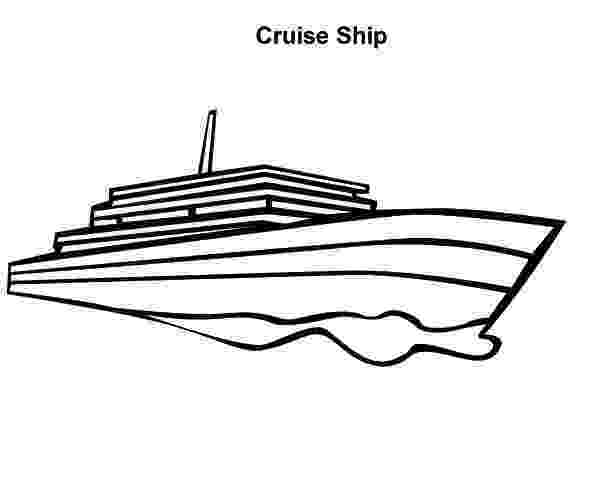 coloring pages cruise ship cruise ship netart pages cruise ship coloring