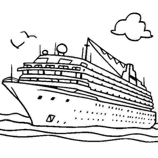 coloring pages cruise ship cruise ship netart pages ship cruise coloring