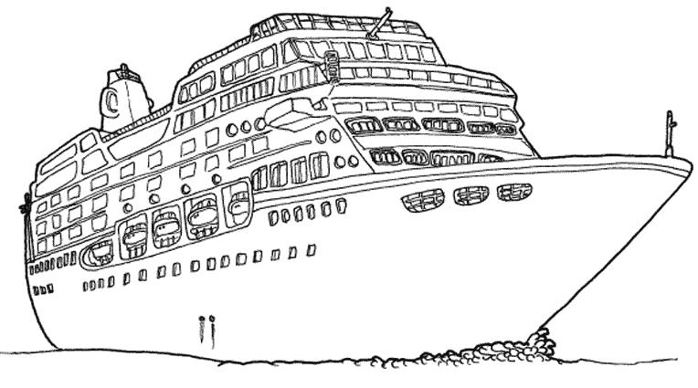 coloring pages cruise ship rad rocket ship worksheet educationcom coloring cruise ship pages