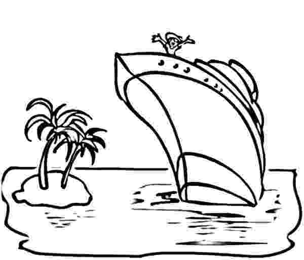 coloring pages cruise ship real cruise ship coloring page for kids transportation cruise coloring ship pages