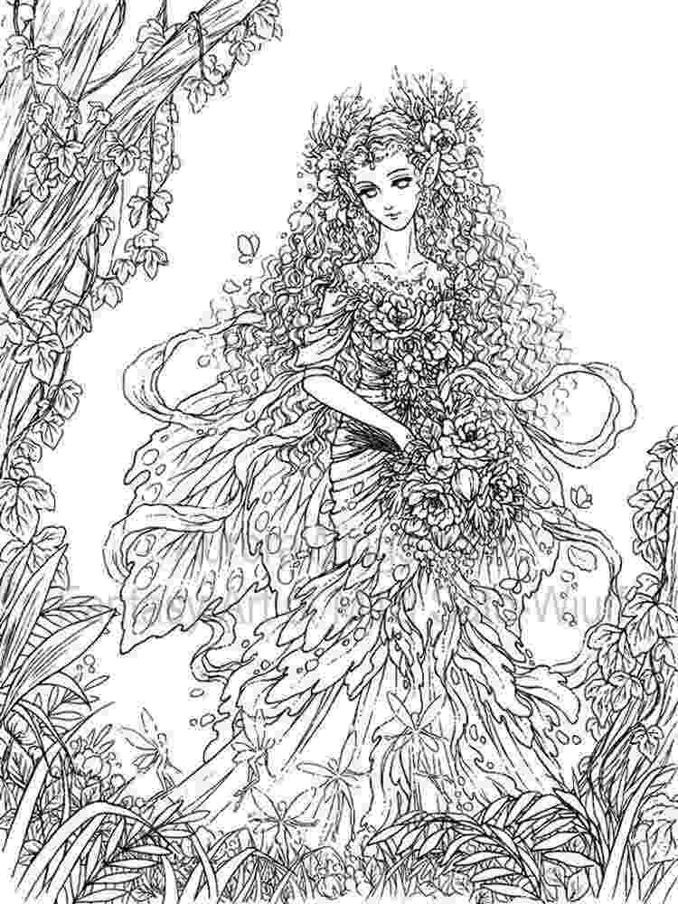 coloring pages fantasy 25 best molly harrison free coloring pages direct from fantasy pages coloring