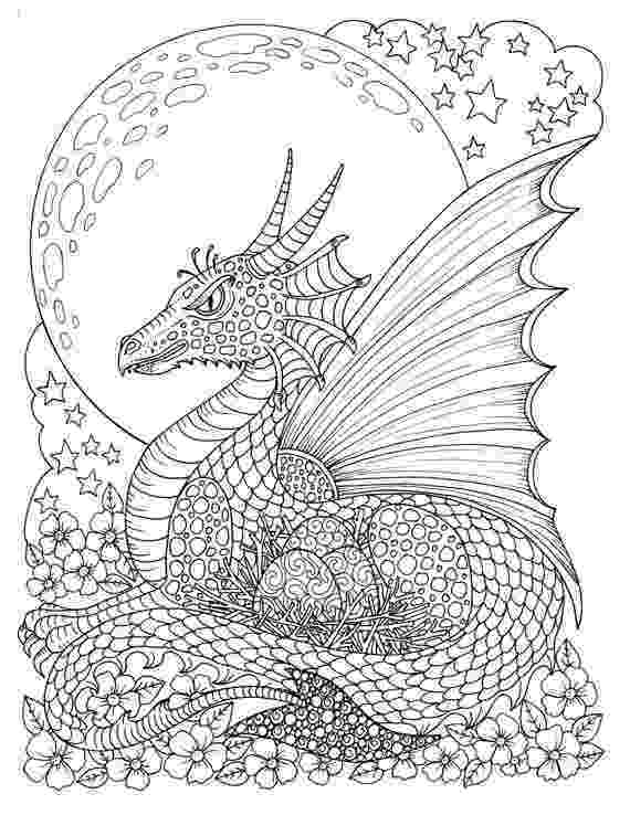 coloring pages fantasy free fairy and dragon coloring page by molly harrison pages fantasy coloring