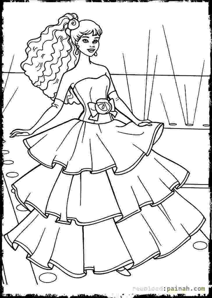 coloring pages fashion coloring pages of fashion dresses at getdrawings free fashion pages coloring