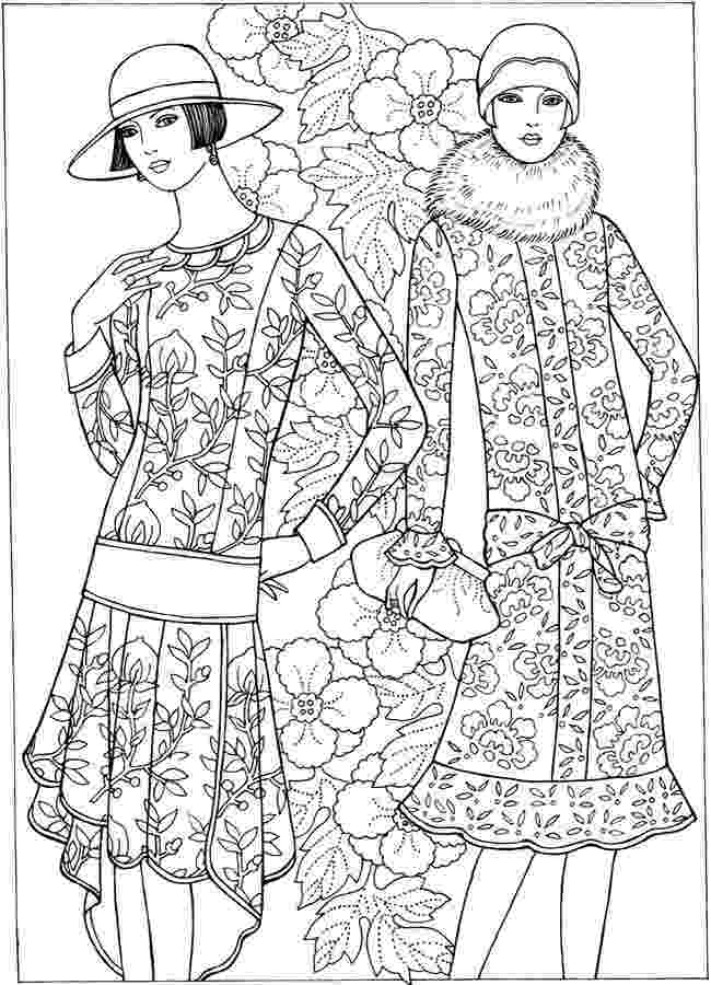 coloring pages fashion fashionable girls coloring pages 1gif 15332076 coloring fashion pages