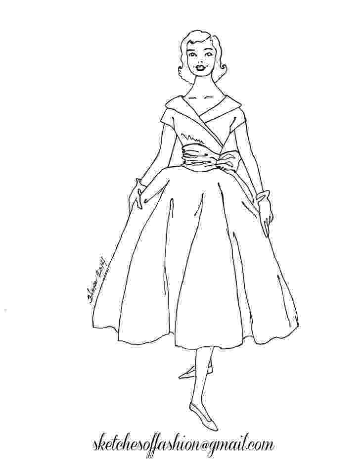 coloring pages fashion printable coloring pages of fashion clothing coloring home fashion coloring pages