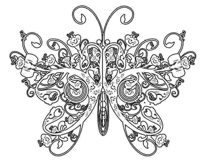 coloring pages for adults butterflies 16 best images about coloring pages on pinterest pages butterflies for coloring adults