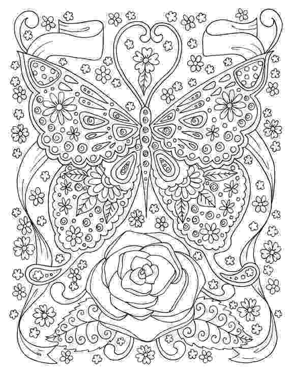 coloring pages for adults butterflies butterfly coloring page adult coloring book digital coloring coloring pages butterflies adults for
