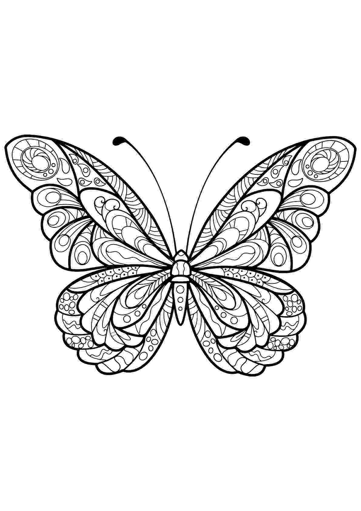 coloring pages for adults butterflies butterfly coloring pages for adults best coloring pages pages coloring adults for butterflies
