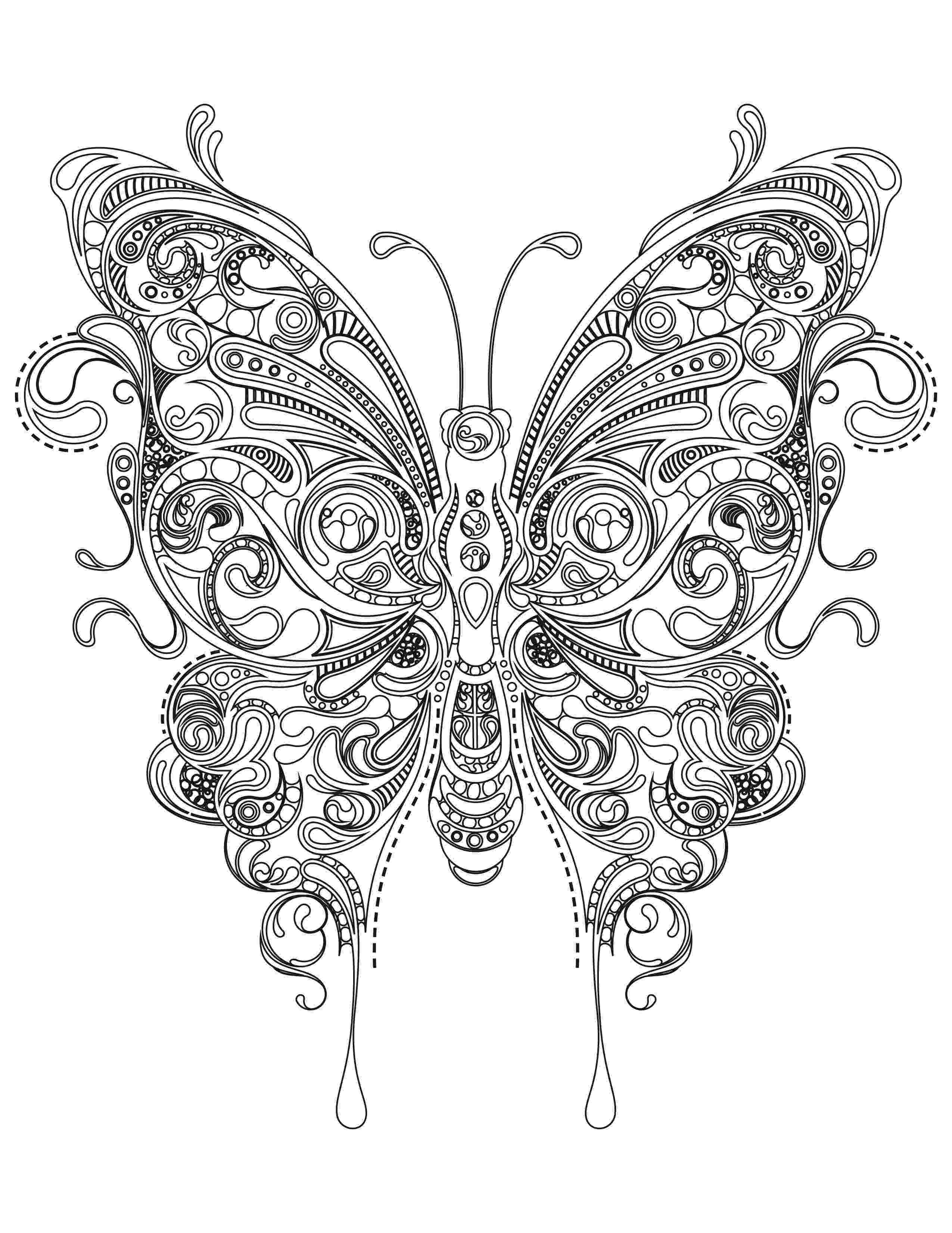 coloring pages for adults butterflies butterfly coloring pages team colors for coloring butterflies pages adults