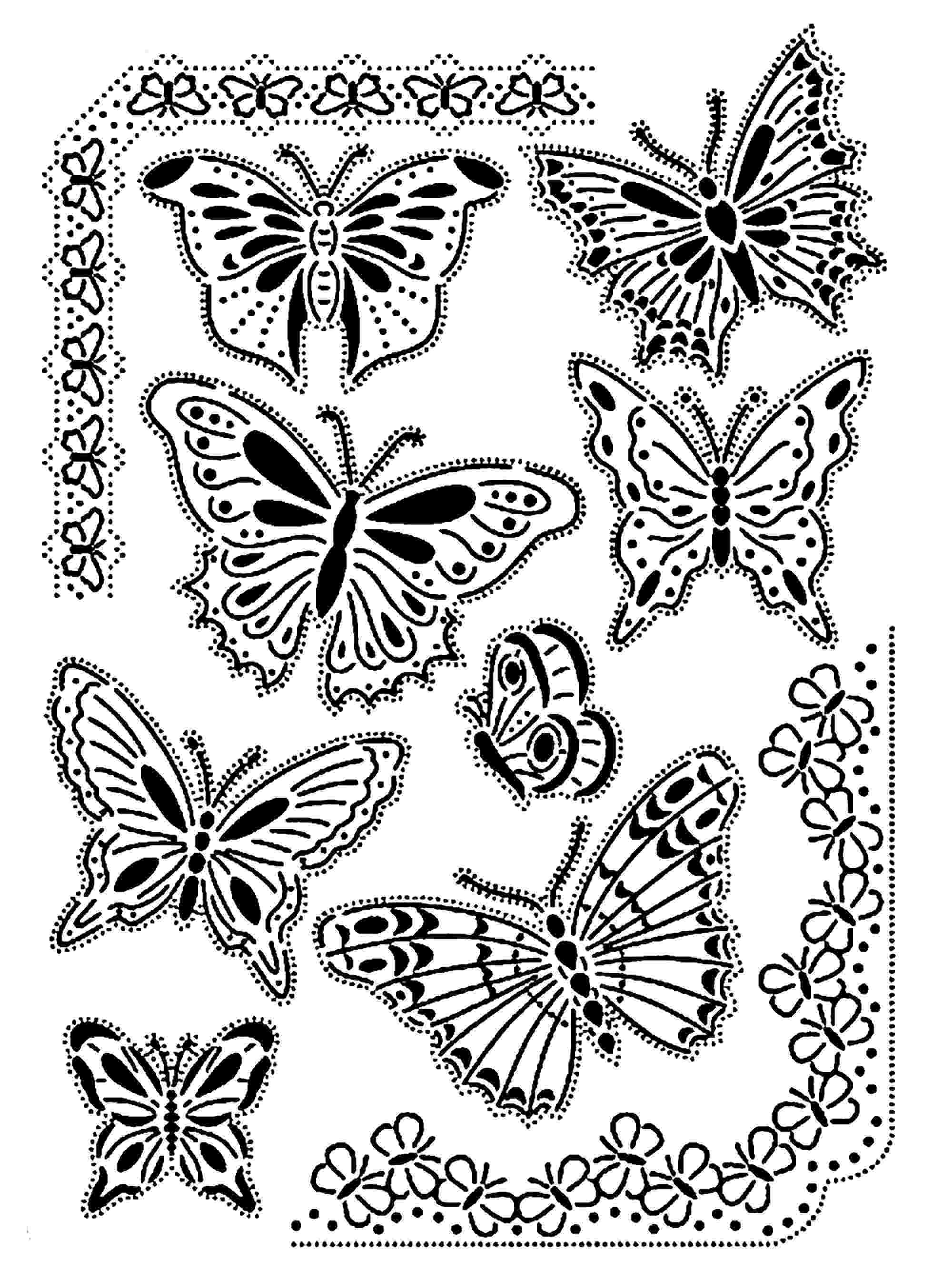 coloring pages for adults butterflies coloring butterflies for adults pages