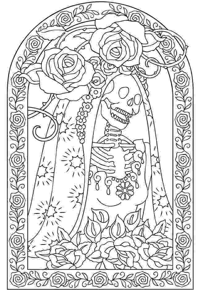 coloring pages for adults day of the dead day of the dead 2017 drawing tattoo makeup of pages dead adults coloring day for the
