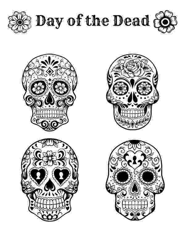 coloring pages for adults day of the dead free printable day of the dead coloring page day of the adults for day of coloring dead pages the