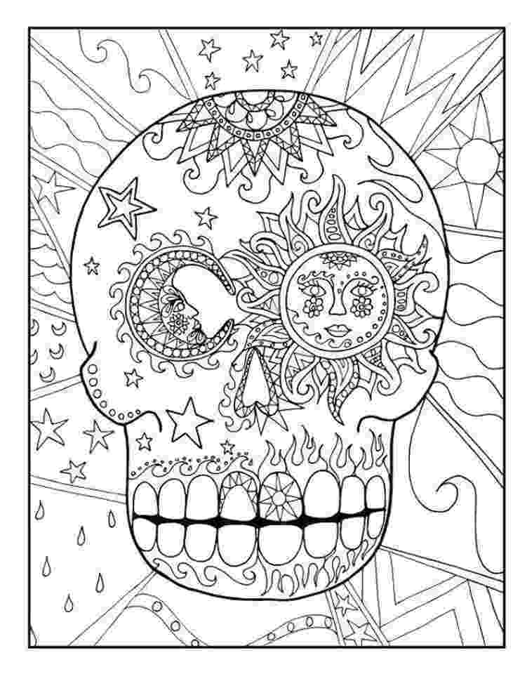 coloring pages for adults day of the dead free printable day of the dead coloring pages adults dead pages coloring the day of for