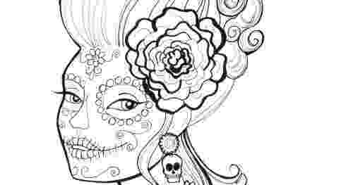 coloring pages for adults day of the dead free printable day of the dead coloring pages best coloring for adults day pages the of dead