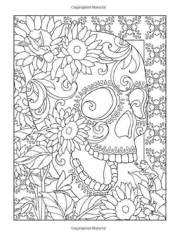 coloring pages for adults day of the dead free printable day of the dead coloring pages best day coloring the pages adults of for dead
