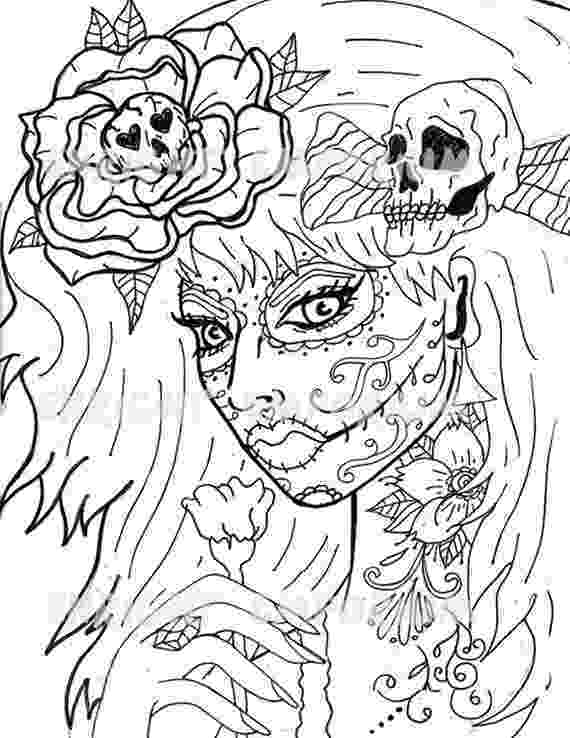 coloring pages for adults day of the dead welcome to dover publications creative haven day of the coloring for adults pages day dead the of