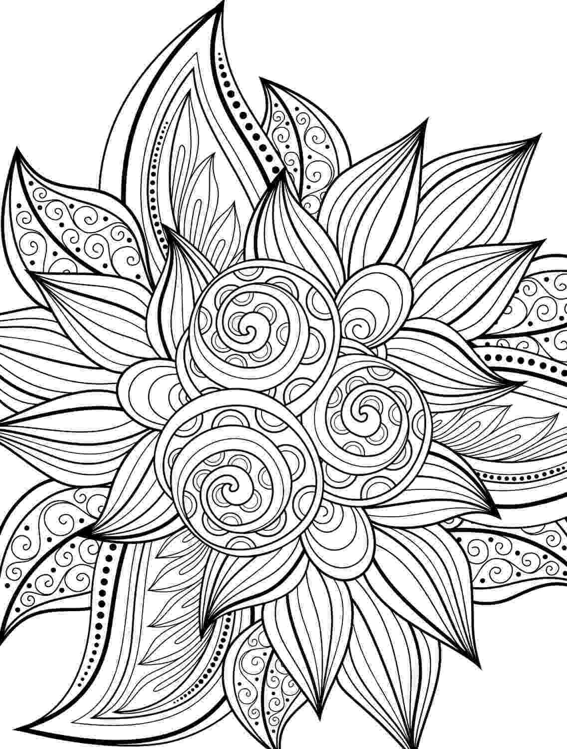 coloring pages for adults free online adult coloring pages flowers to download and print for free online pages for coloring adults free