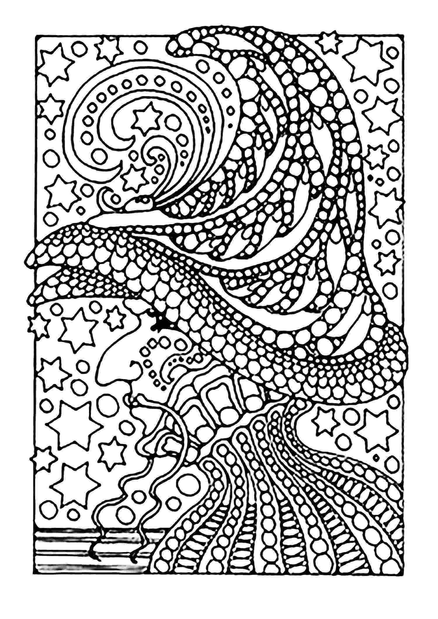 coloring pages for adults halloween halloween witch and stars halloween adult coloring pages pages halloween coloring for adults