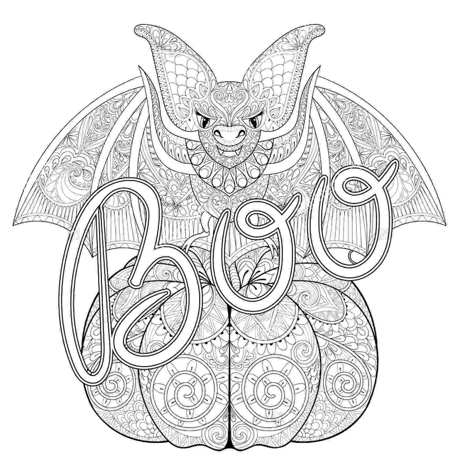 coloring pages for adults halloween halloween zentangle bat halloween adult coloring pages for coloring halloween pages adults