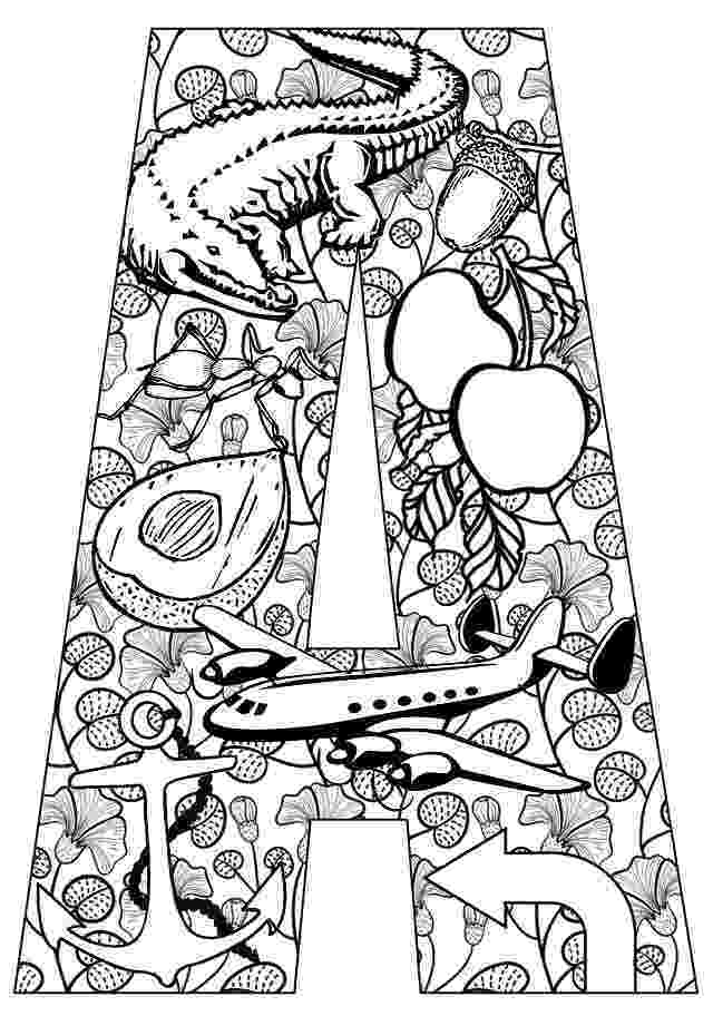 coloring pages for adults letter teach your kids their abcs the easy way with free for pages coloring adults letter