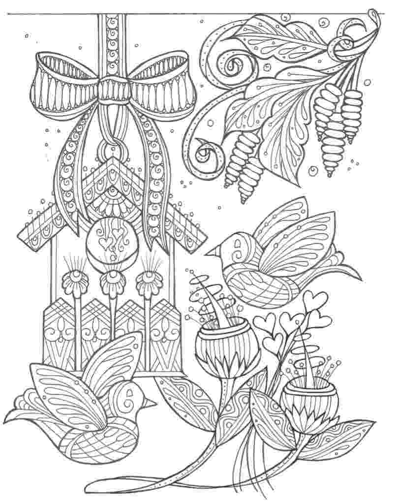 coloring pages for adults to print flowers birds and flowers spring coloring page favecraftscom pages adults flowers print to coloring for