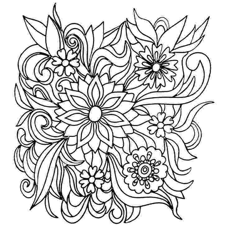 coloring pages for adults to print flowers colors of nature adult colouring book flowers cool coloring to print adults for pages flowers