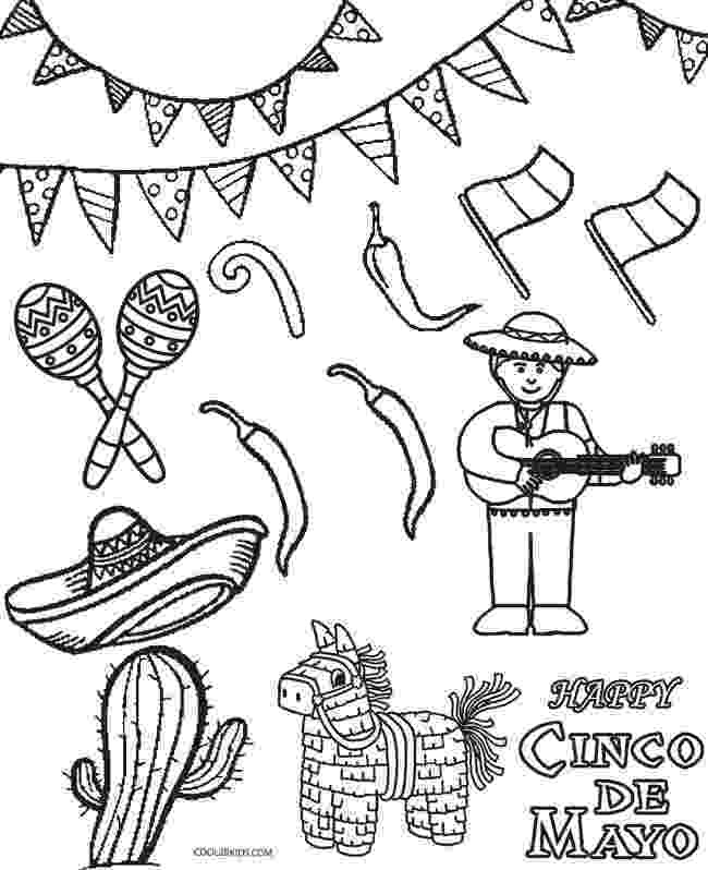 coloring pages for cinco de mayo free printable cinco de mayo coloring pages for kids coloring cinco for de mayo pages