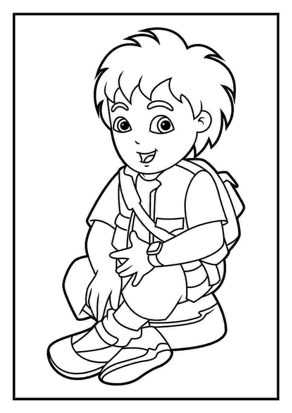 coloring pages for dora coloring pages diego coloring pages pages for coloring
