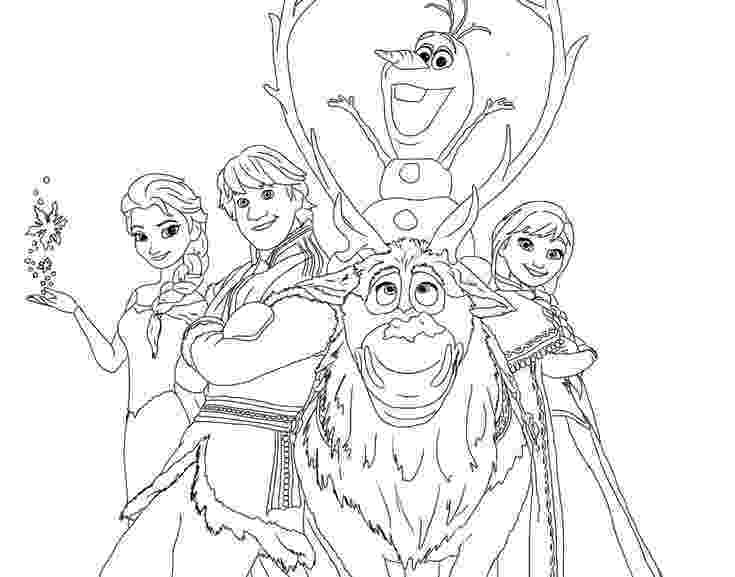 coloring pages for frozen characters all the disney frozen characters coloring pages only frozen coloring pages for characters