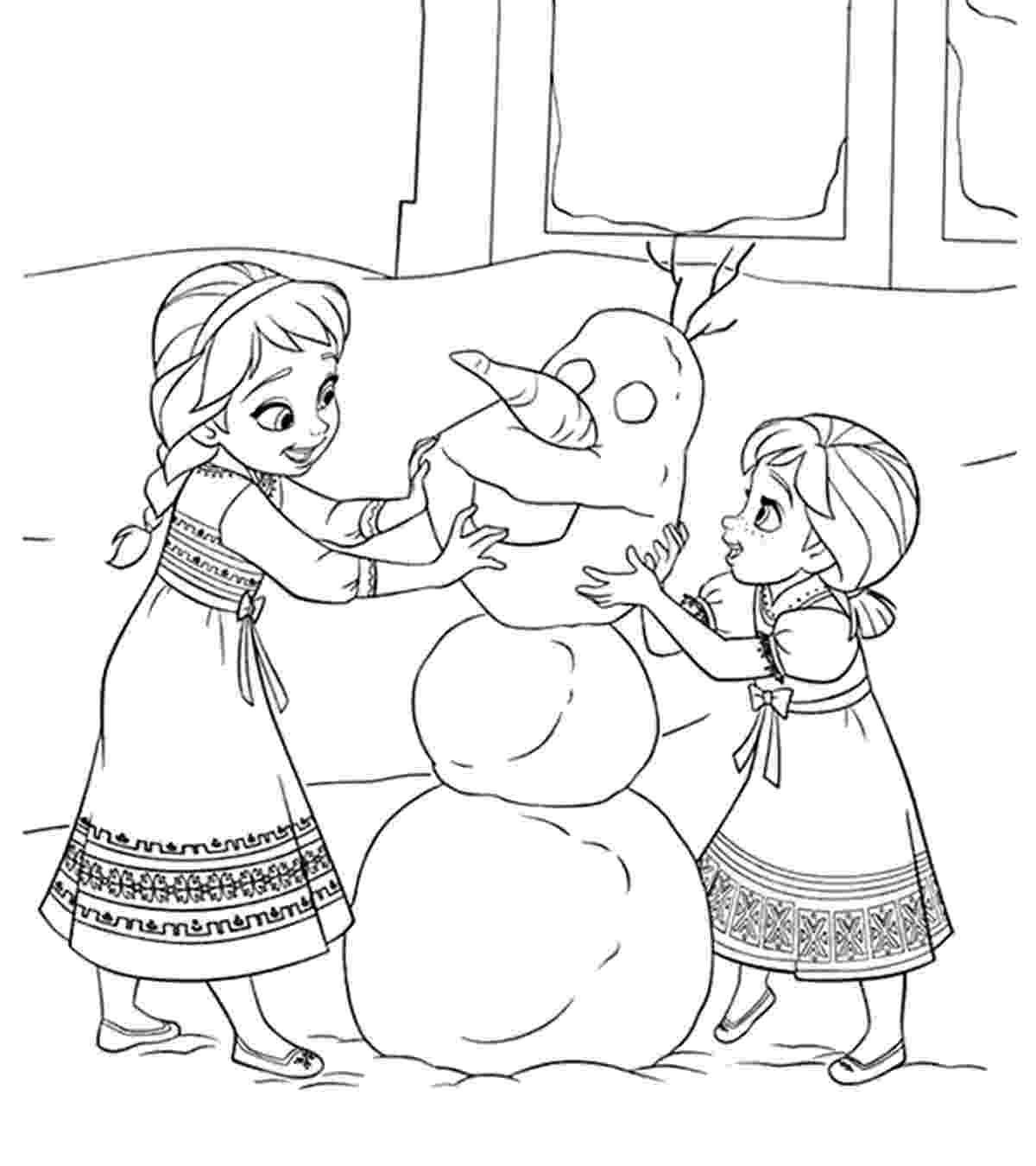 coloring pages for frozen characters disney coloring pages momjunction pages characters for frozen coloring