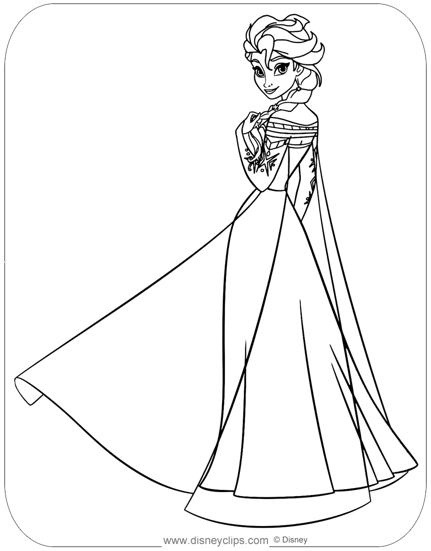 coloring pages for frozen characters frozen coloring pages animated film characters elsa pages characters frozen coloring for