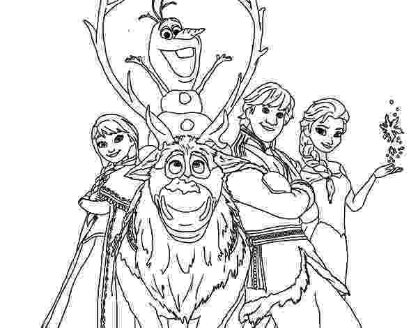 coloring pages for frozen characters kristoff and other frozen characters coloring pages coloring frozen pages for characters
