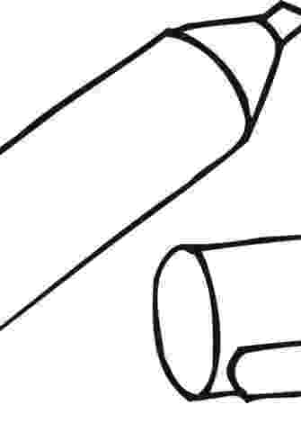coloring pages for highlighters clip art highlighter bw i abcteachcom abcteach for coloring pages highlighters