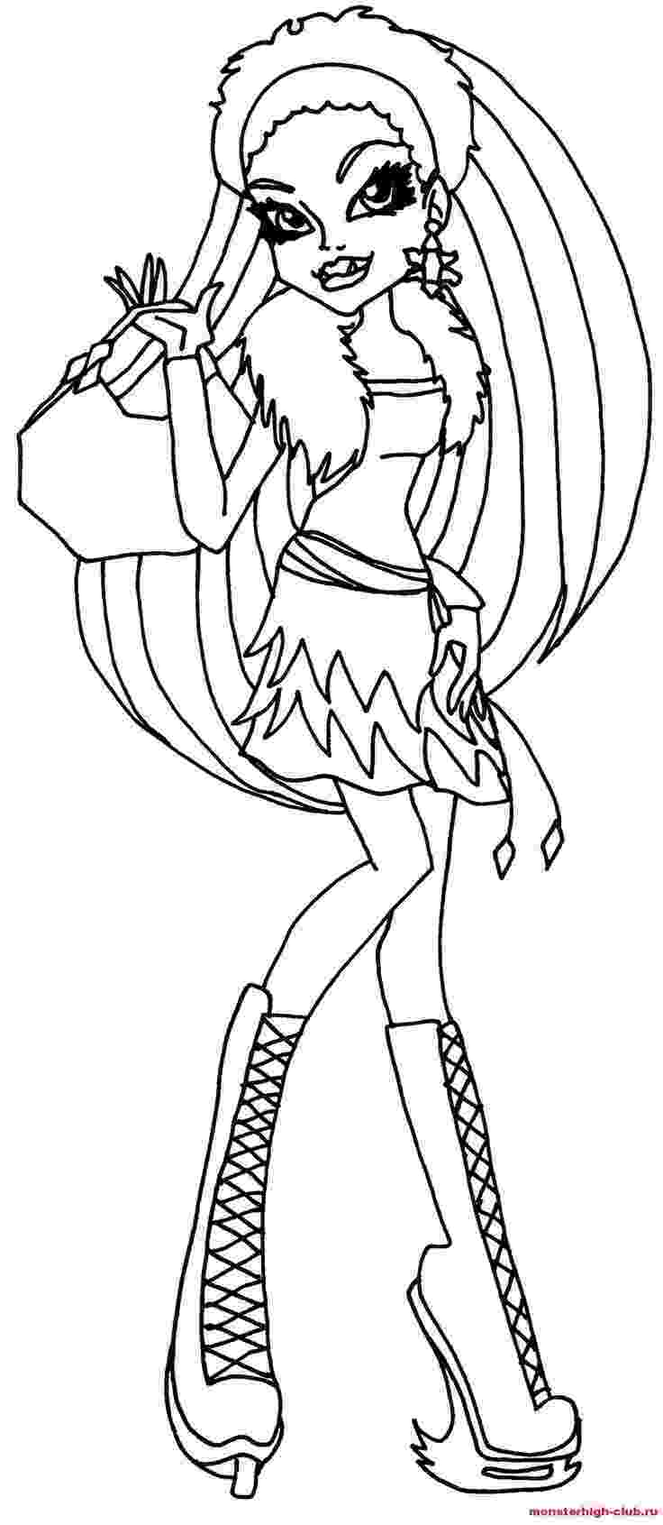 coloring pages for monster high print monster high coloring pages for free or download coloring monster for pages high