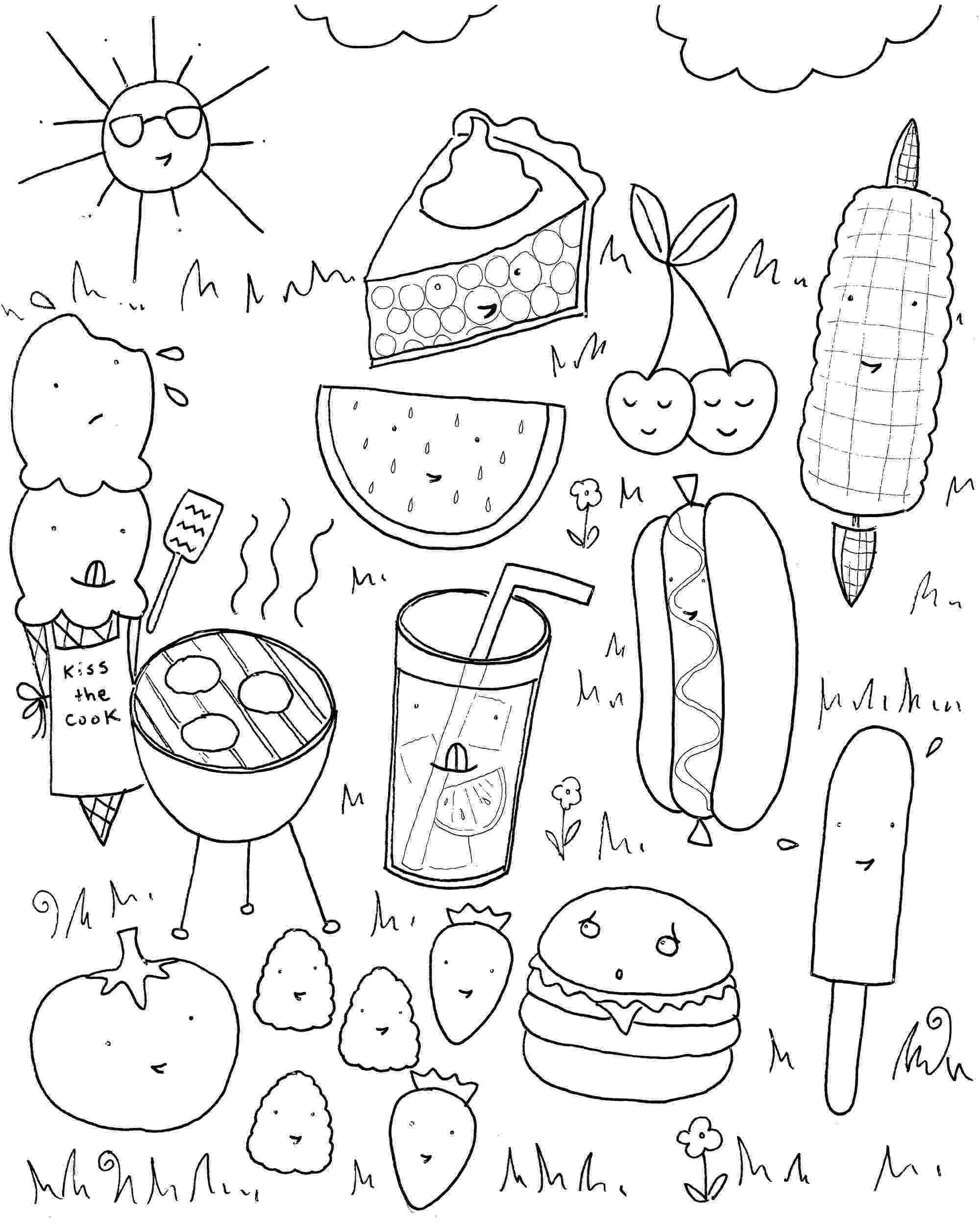 coloring pages for summer coloring pages for kids print them all for free pages for coloring