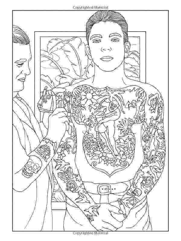 coloring pages for tattoos body art tattoo designs coloring book dover paperback for pages tattoos coloring