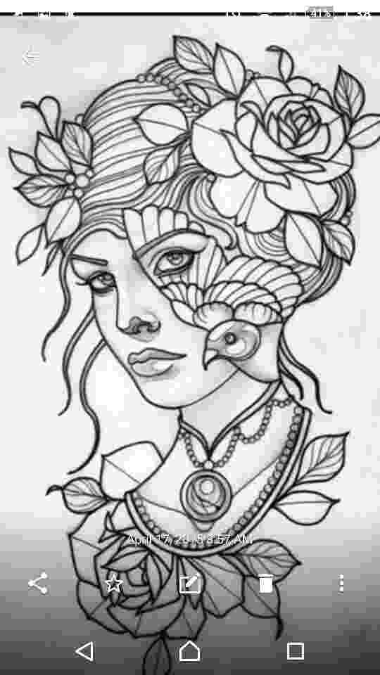 coloring pages for tattoos printable coloring page body art coloring pages for coloring tattoos pages