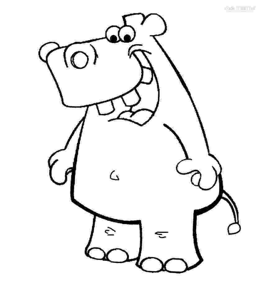 coloring pages hippo printable hippo coloring pages for kids cool2bkids pages hippo coloring