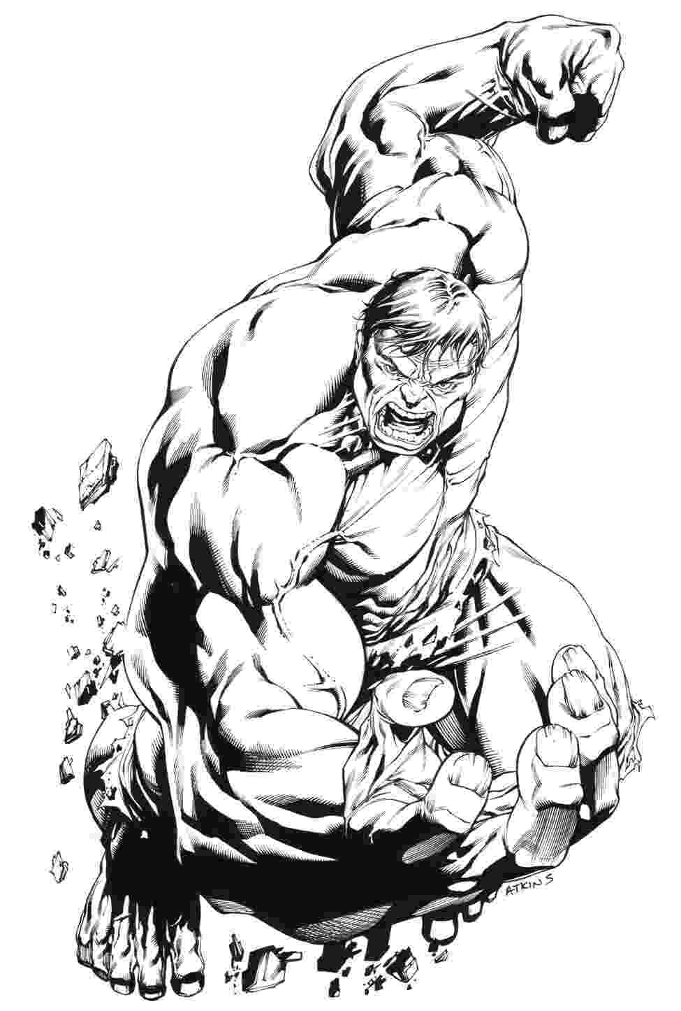 coloring pages hulk robert atkins art strongest there is pages coloring hulk