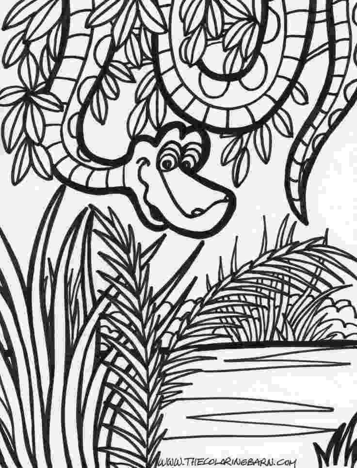 coloring pages jungle vultures of the jungle coloring pages hellokidscom coloring jungle pages