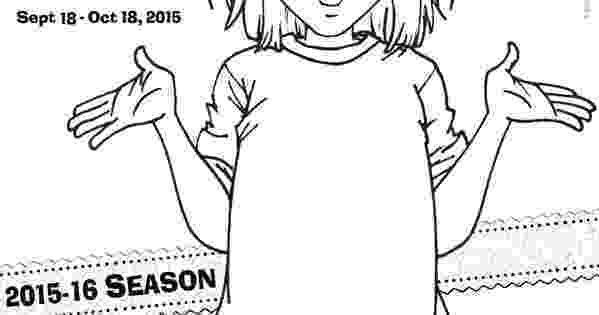 coloring pages junie b jones junie b jones the musical stages theatre company junie coloring pages jones b