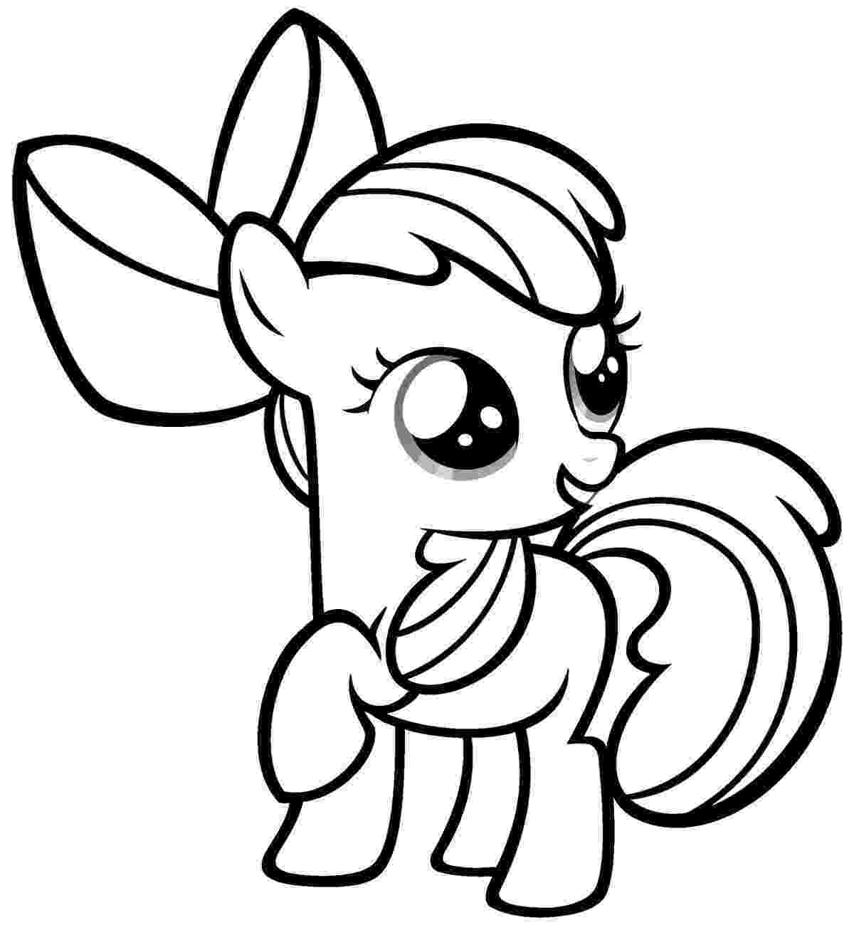 coloring pages little pony ponies from ponyville coloring pages free printable coloring pages pony little