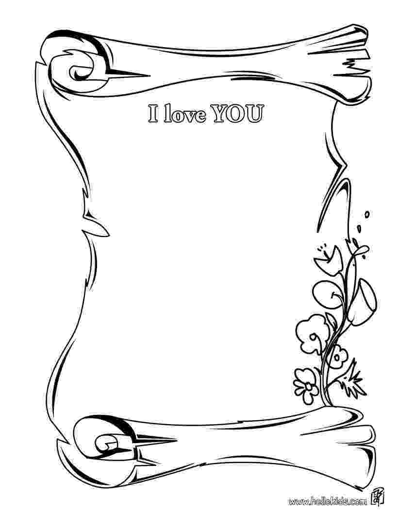 coloring pages love you i love you coloring pages getcoloringpagescom love you coloring pages