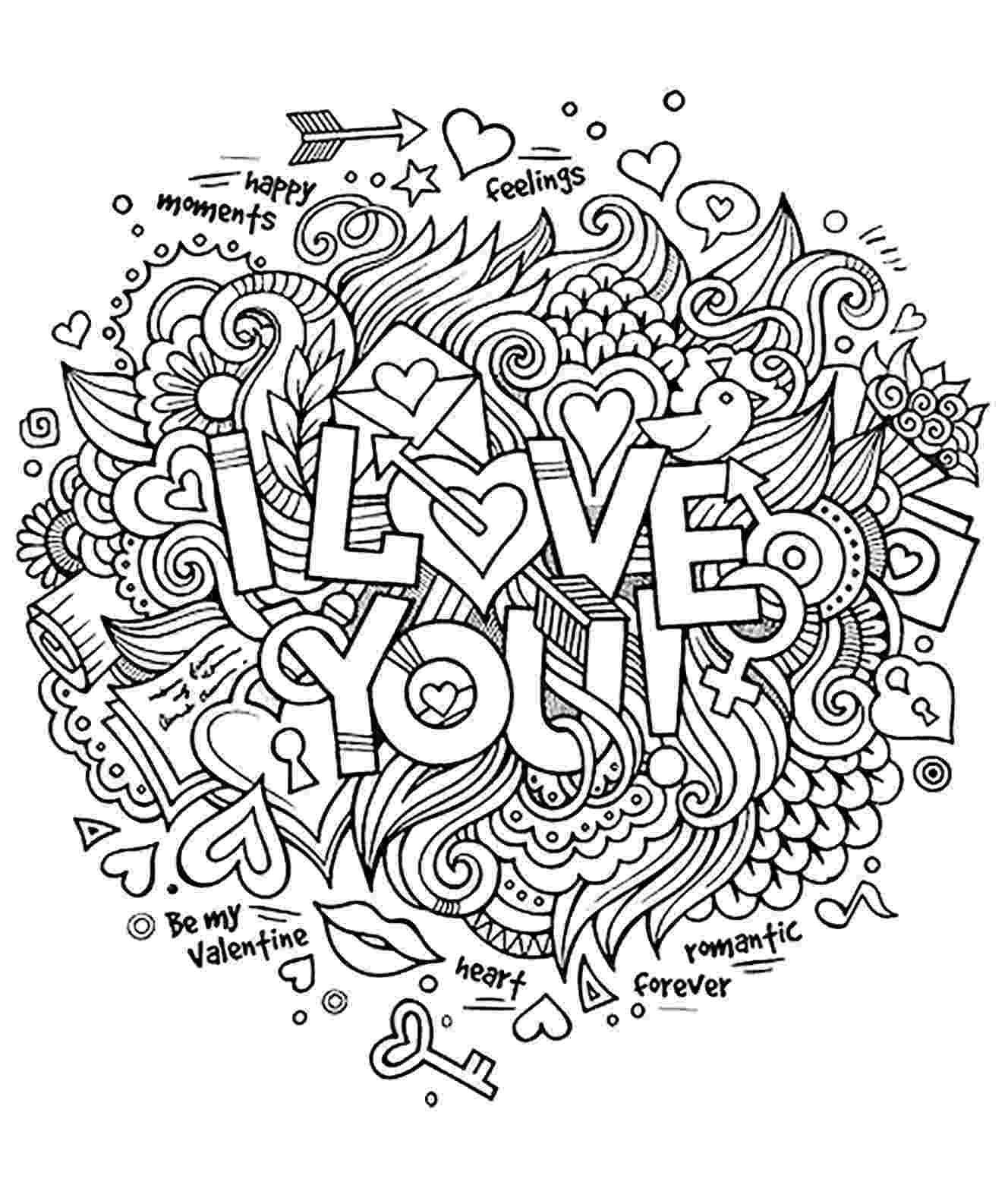 coloring pages love you quoti love you quot coloring pages you love pages coloring
