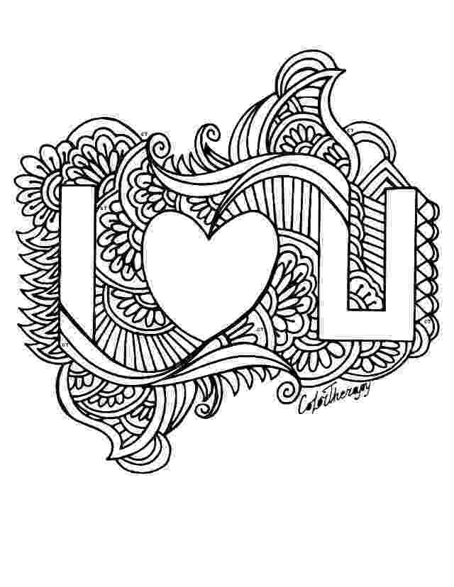 coloring pages love you valentine39s day card quoti love youquot coloring page free love you coloring pages